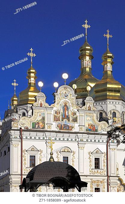 Ukraine, Kiev, Kyiv, Kyevo-Pecherska Lavra, Dormition Cathedral