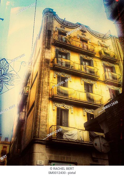 Street Scene, Barceloneta, Barcelona, Catalonia