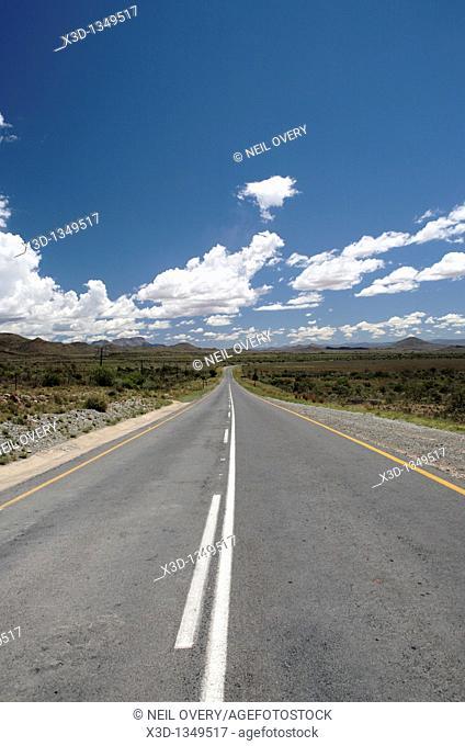 Road in Karoo Desert, South Africa