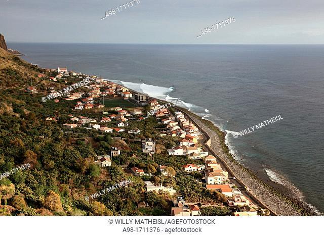Paul do Mar at the Atlantic Ocean, Madeira, Portugal, Europe