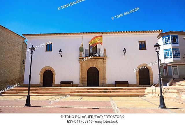 Las Pedroneras in Cuenca at Castile La Mancha of Spain in Saint James Way of Levante