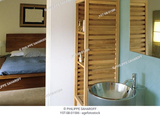 Bedroom, House, Garnier, Paris, France