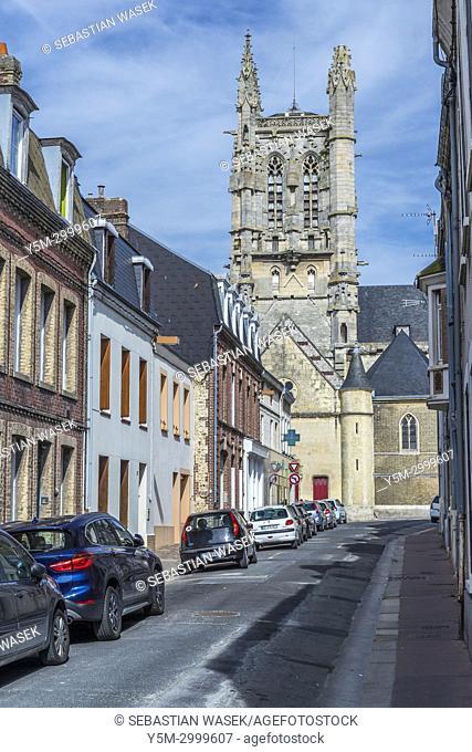 St. Etienne's church, Fécamp, Seine-Maritime, Normandie, France, Europe