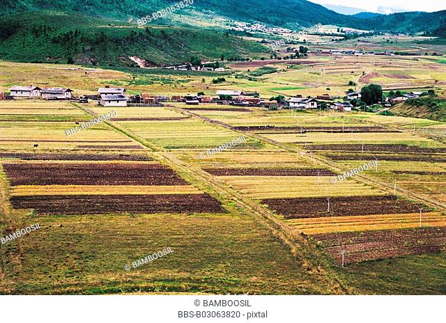 Villages in Shangri-la, Shangri-la County, Diqing Prefecture, Yunnan Province, People's Republic of China