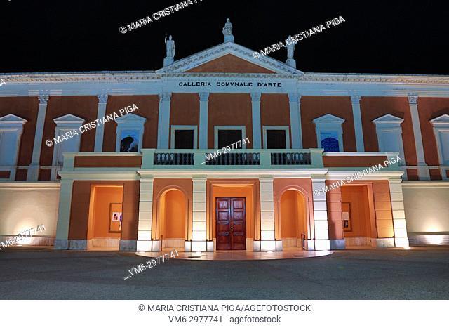 Galleria Comunale d'arte, municipal art gallery, in Cagliari, Sardinia, Italy