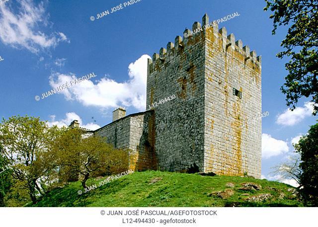 Tower of Xia, Friol. Lugo province, Galicia, Spain