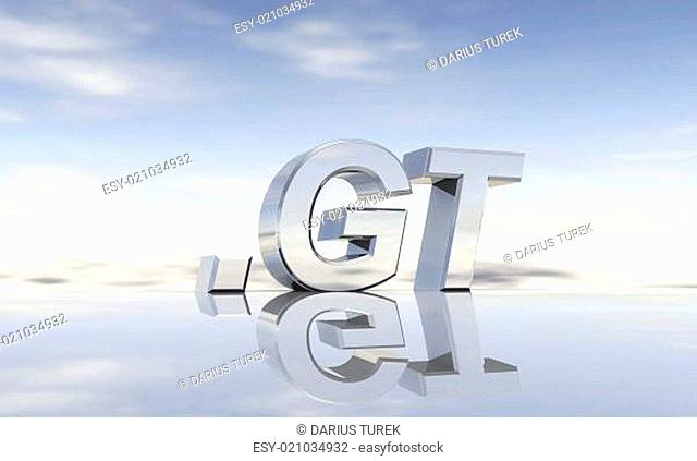 Top-Level-Domain .gt