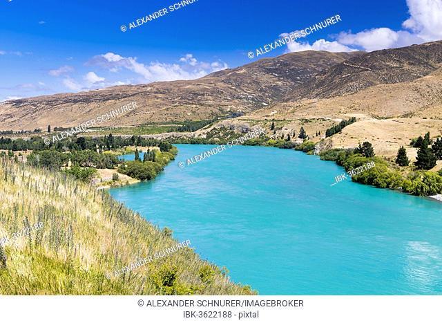Waitaki River, Kirkliston, Canterbury Region, New Zealand