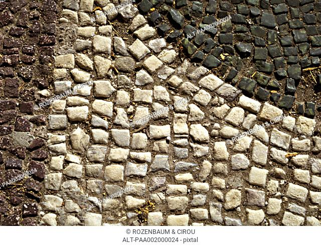 Mosaic, close-up, full frame