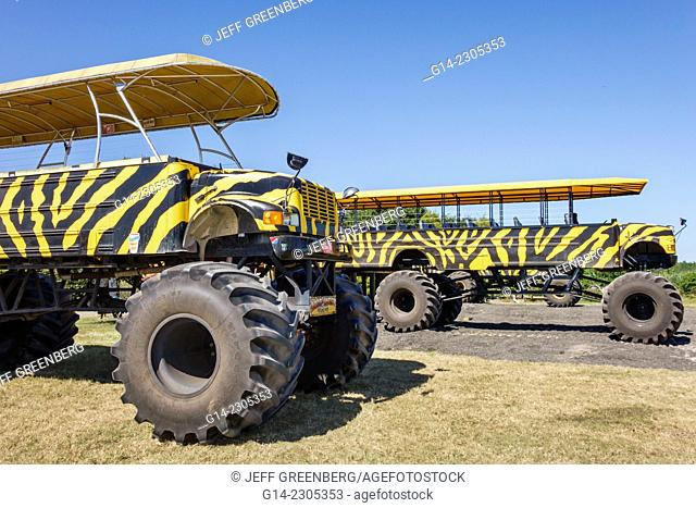 Florida, Clermont, Showcase of Citrus, Swamp Truck, big wheel, ride