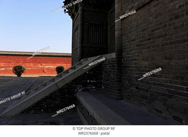 linji Temple Zhengding County Shijiazhuang City Hebei Province China