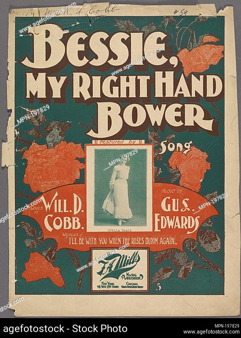 Bessie, my right hand bower Additional title: Bessie, my right hand bower. [first line of chorus] Additional title: Ever seen a 'rora borealis? [first line]