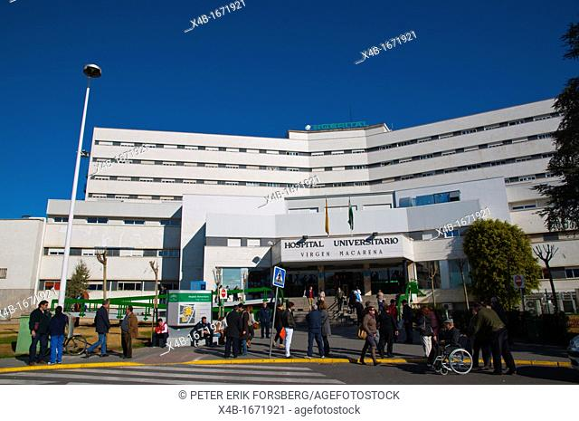 Hospital Universitario Virgen Macarena university hospital central Seville Andalusia Spain