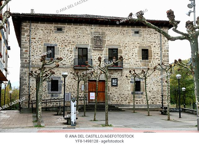 Amurrio town hall building Vizcaya Basque country Spain