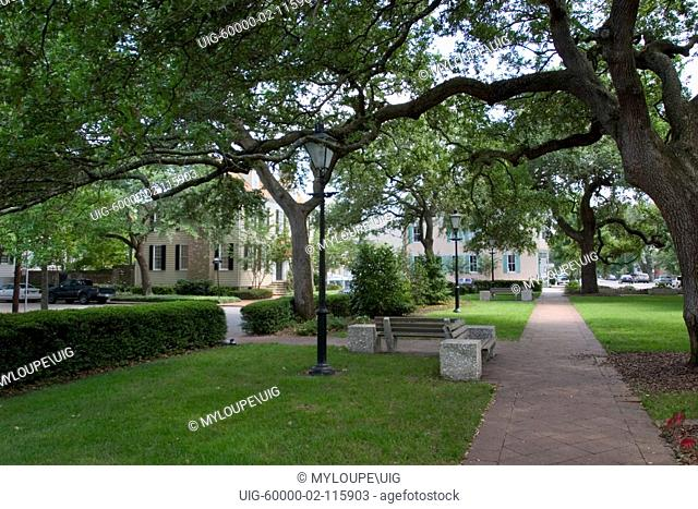 Warren Square, Historic District, Savannh, Georgia