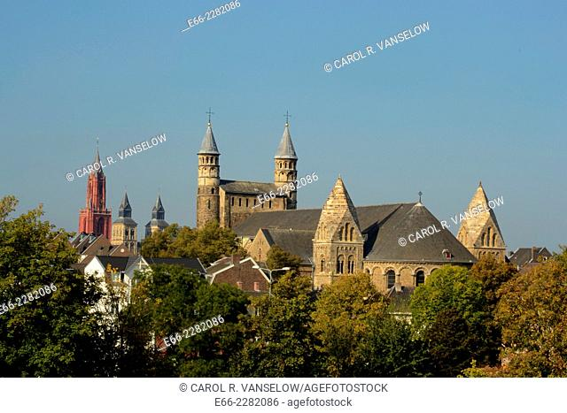 Onze Lieve Vrouw Basiliek - Basilica of Our Lady (1000-1200). The Basilica has undergone a face-lift. For an image of the church before the restoration see...
