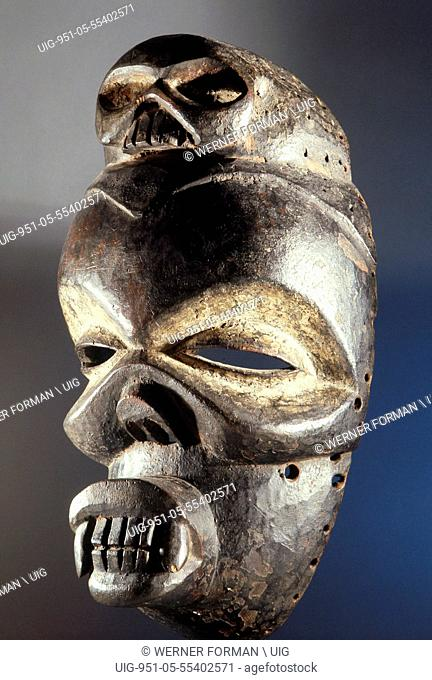 The Ekpo society, widespread throughout eastern Nigeria, used masquerades in dances to honour ancestors and as a means of social control