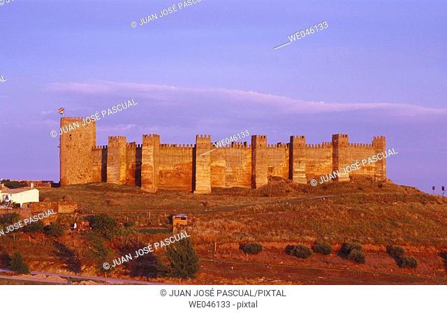 Castle, Baños de la Encina. Jaén province, Andalusia, Spain