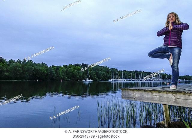 STOCKHOLM, SWEDEN Yoga pose