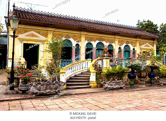 Vietnam - The South - The Delta of Mekong - Can Tho - Binh Thuy Goo House