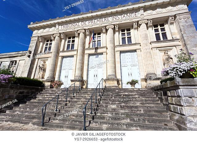 Court of Baugé, Maine-et-Loire, Pays de la Loire, France