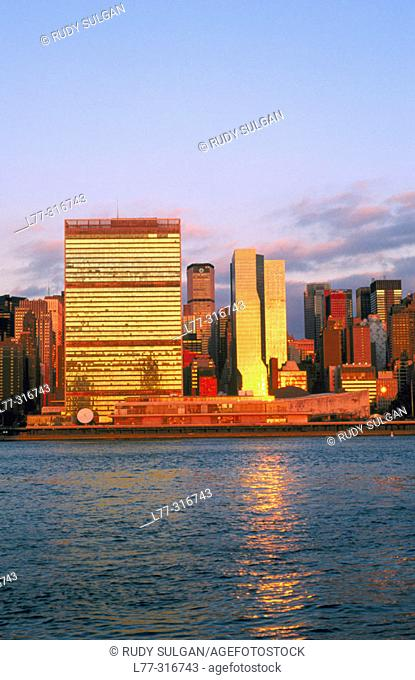 United Nations Building. New York City, USA