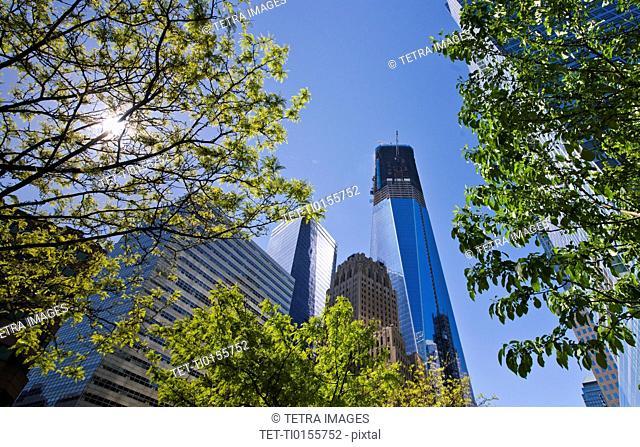 USA, New York City, 1 World Trade Center