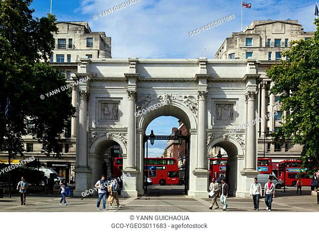 Marble Arch,, London, England