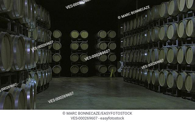 Bordeaux Saint Emilion wine bottling unit