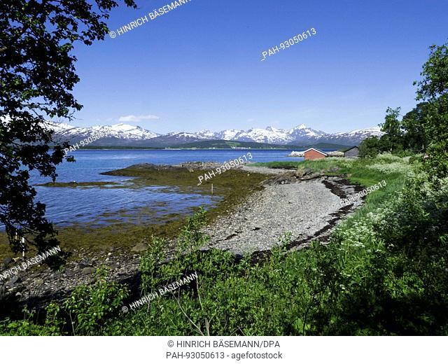 summer in northern Norway, june 2017 | usage worldwide. - Tromsö/Troms/Norway