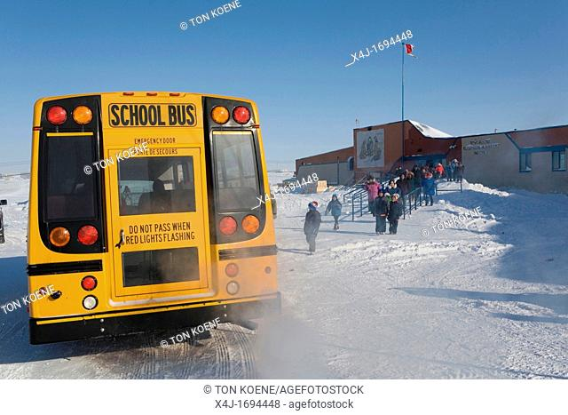 Gojahaven is a town in the far north of canada in 1000 where Inuits living There is one primary school and one secondary school However