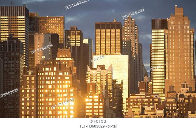 USA, New York State, New York City, part of cityscape