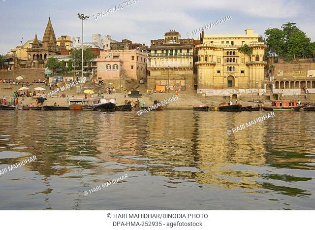 Assi ghat, varanasi, uttar pradesh, india, asia