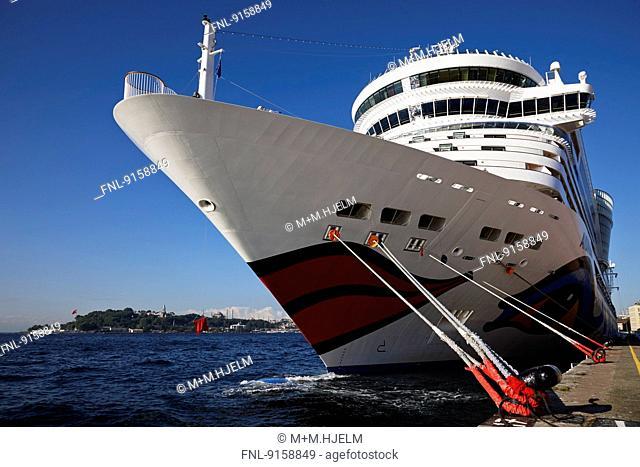 Cruise ship Aida diva, Istanbul, Turkey