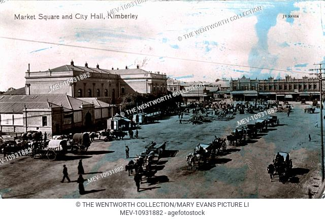 Market Square & City Hall, Kimberley, near Bloemfontein, Frances Baard, Northern Cape, South Africa