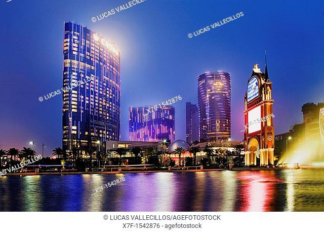 City of Dreams,Taipa island,Macau,China