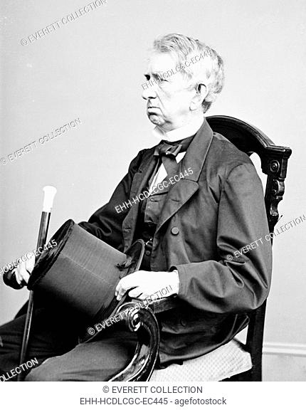 William H. Seward, Secretary of State under Abraham Lincoln. His purchase of Alaska from Russia was known as 'Seward's Folly' until gold was discovered in the...