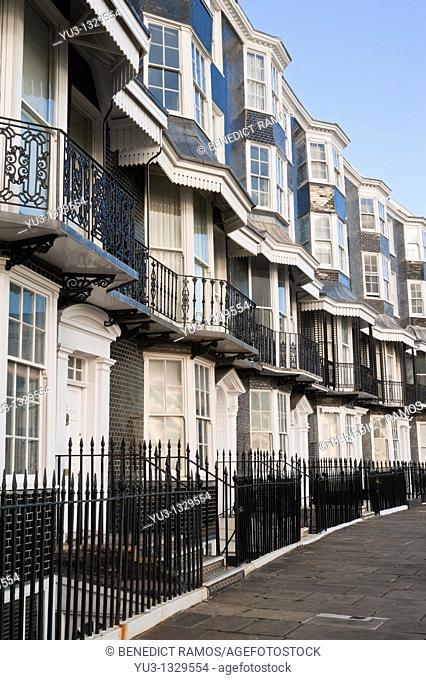 Royal Crescent, Brighton, Sussex, England, UK