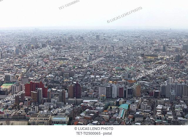 Skyline of Tokyo Japan