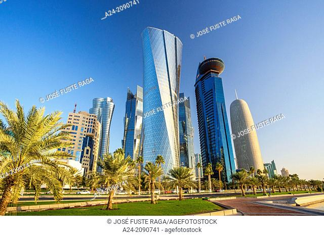 Qatar , Doha City, Al Bidda Tower