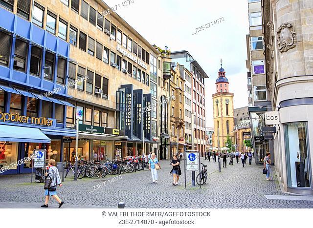 FRANKFURT ON THE MAIN, GERMANY: The City of Frankfurt on the Main, Germany