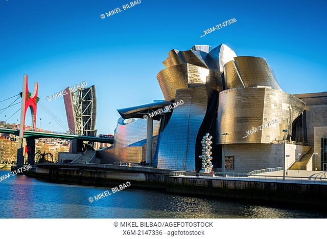 Guggenheim Museum of Modern Art. Bilbao, Spain
