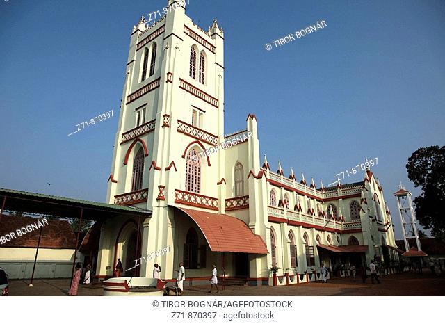 India, Kerala, Alappuzha, Alleppey, christian church