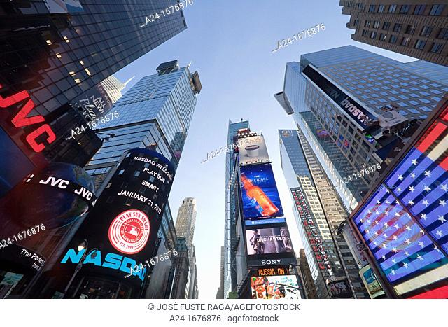 USA, New York City, Manhattan,Times Square