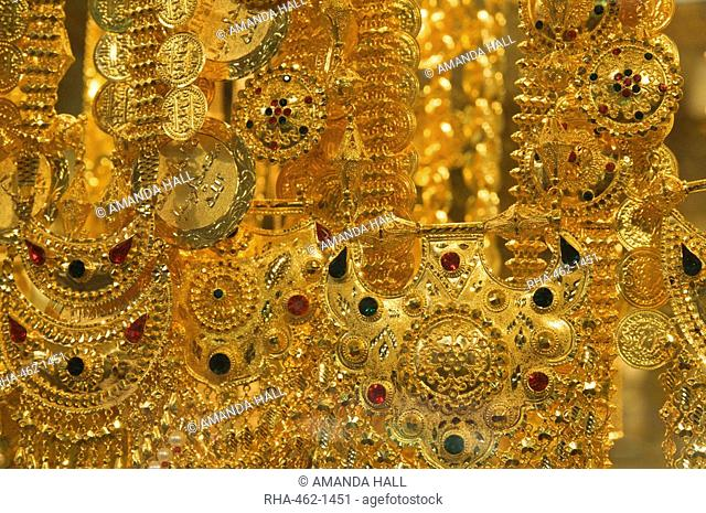 Gold jewel gold souk Stock Photos and Images | age fotostock