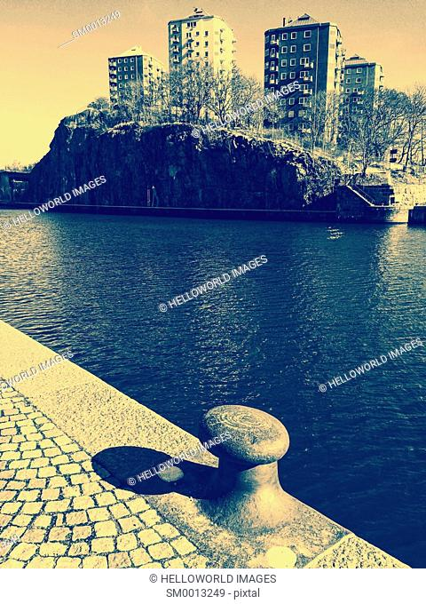 Hammarby Lake, Sodermalm, Stockholm, Sweden, Scandinavia
