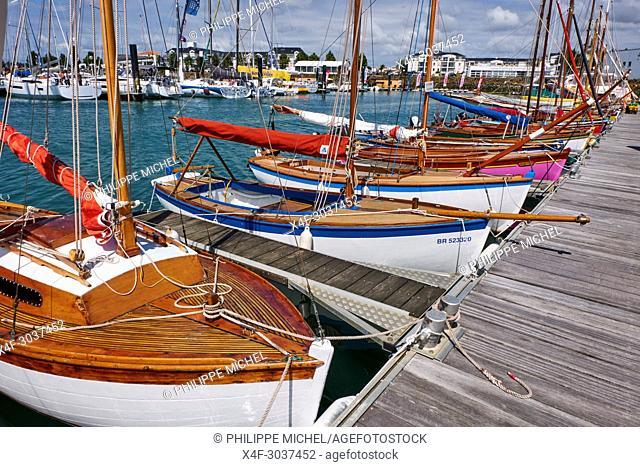 France, Vendée, Les Sables-d'Olonne, Olonna port