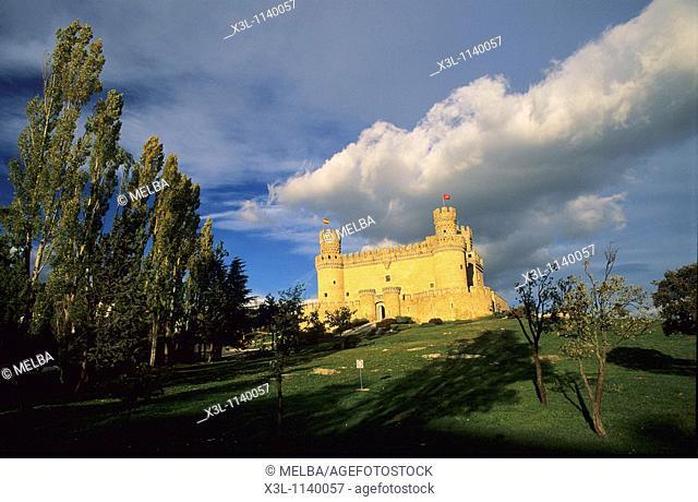 Manzanares el Real Castle  Madrid  Spain