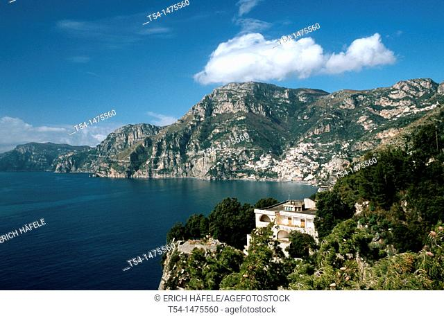 Amalfi Coast in Positano