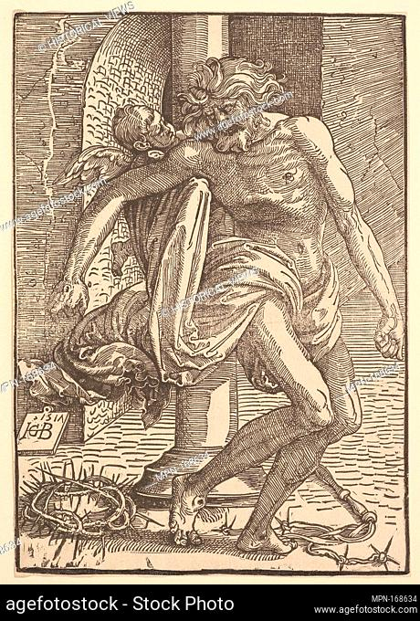 Christ with the Instruments of Torture Supported by a Little Angel. Artist: Hans Baldung (called Hans Baldung Grien) (German